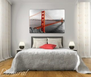 prive san francisco slaapkamer canvassen canvassen demural
